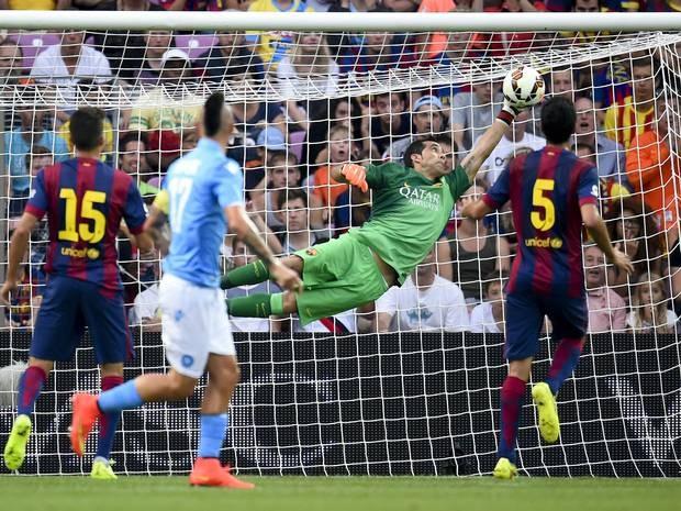 """Dính chấn thương, """"Oliver Kahn mới"""" của Barcelona nghỉ thi đấu 3 tuần ảnh 2"""