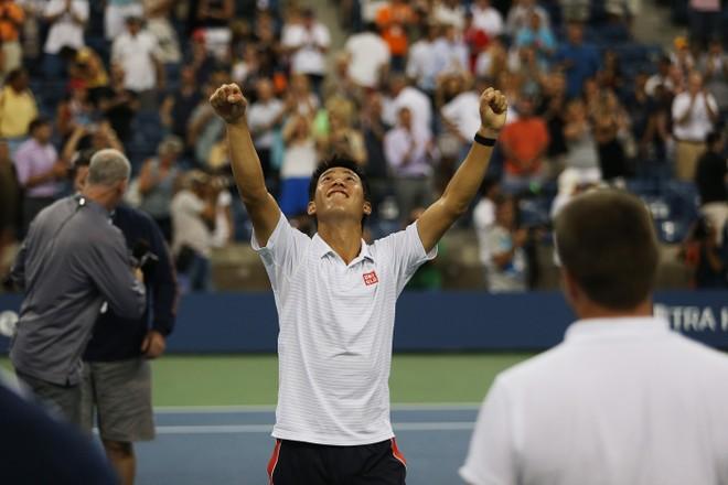 US Open 2014: Nishikori chấm dứt sự chờ đợi gần 100 năm của người Nhật ảnh 3