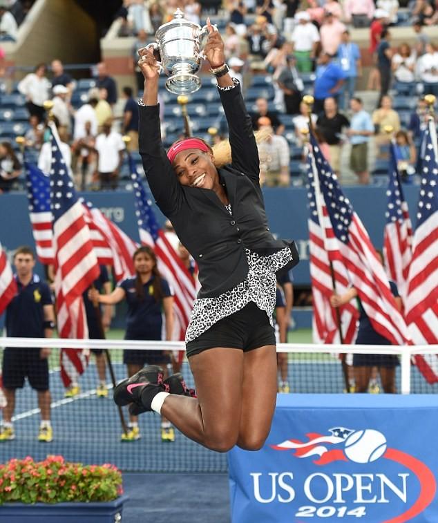 """US Open 2014: Đè bẹp Wozniacki, Serena Williams lần thứ 6 lên ngôi """"Hậu"""" ảnh 4"""