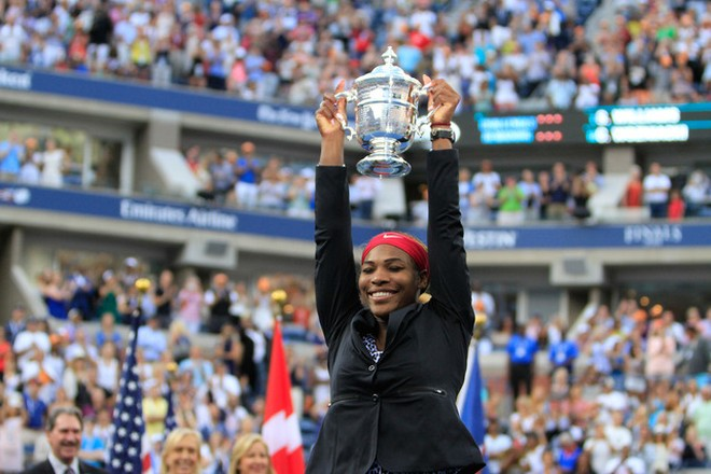 """US Open 2014: Đè bẹp Wozniacki, Serena Williams lần thứ 6 lên ngôi """"Hậu"""" ảnh 2"""
