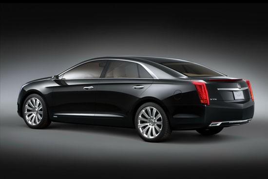 Cadillac XTS Platinum 2013 Concept - đẳng cấp mới ảnh 2