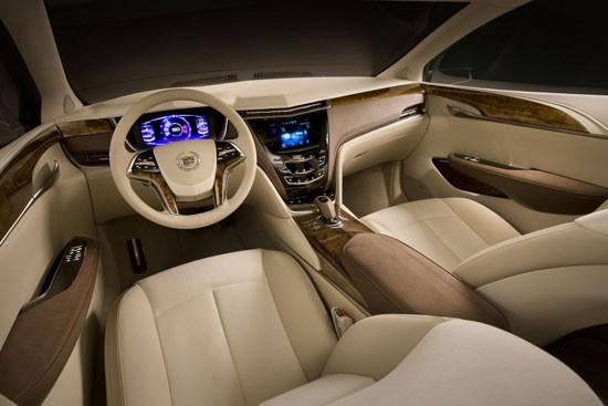 Cadillac XTS Platinum 2013 Concept - đẳng cấp mới ảnh 5
