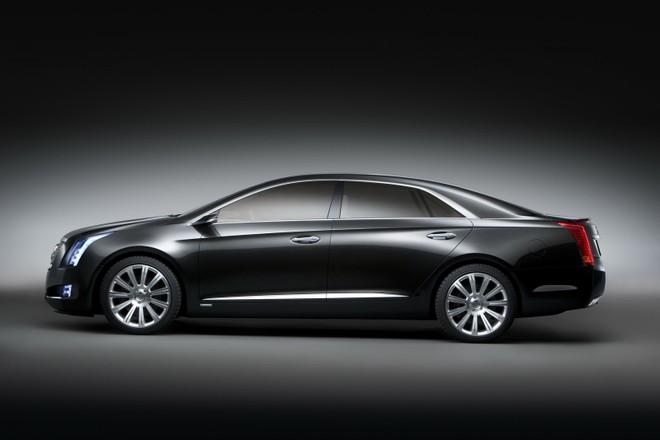 Cadillac XTS Platinum 2013 Concept - đẳng cấp mới ảnh 4