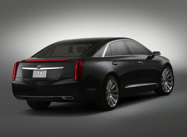 Cadillac XTS Platinum 2013 Concept - đẳng cấp mới ảnh 3