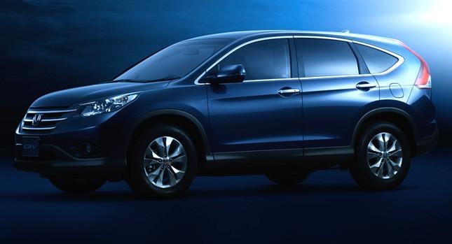 Honda CR-V 2012 đã xuất hiện ảnh 1