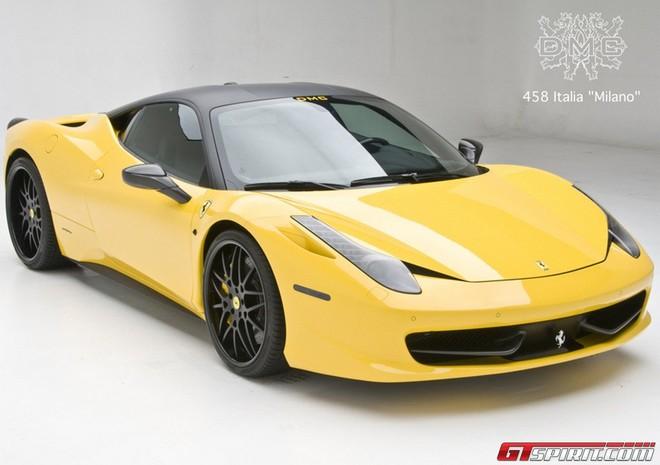 Ferrari 458 tại triển lãm SEMA 2011 ảnh 1