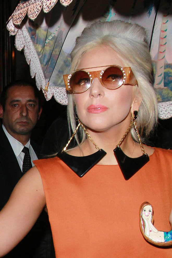 Lady Gaga: Che ô ngay cả khi đang ở trong nhà ảnh 1