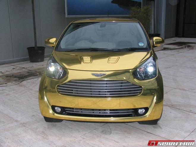Aston Martin Cygnet: xe dát vàng lại xuống phố ảnh 2