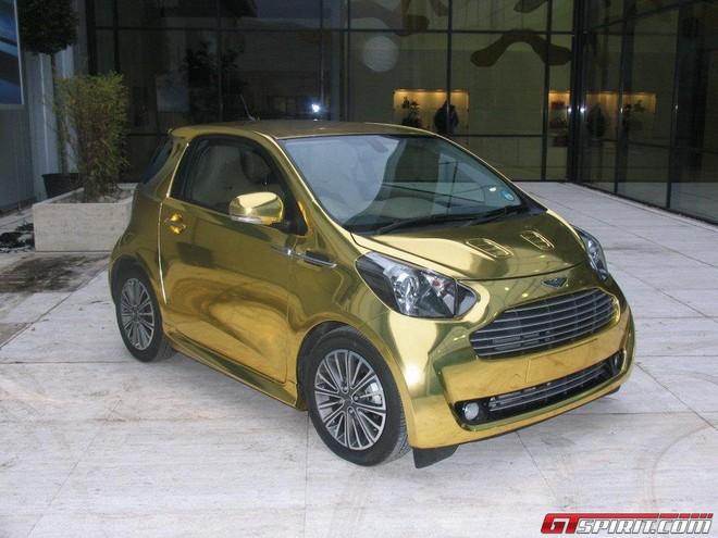 Aston Martin Cygnet: xe dát vàng lại xuống phố ảnh 3