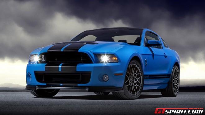 "Ford Mustang Shelby GT500 2013 ""hùng dũng"" thẳng tiến tới Los Angeles Autoshow 2011 ảnh 1"