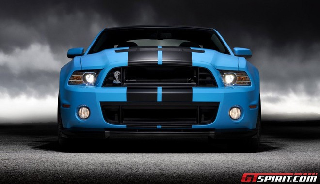 "Ford Mustang Shelby GT500 2013 ""hùng dũng"" thẳng tiến tới Los Angeles Autoshow 2011 ảnh 2"