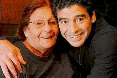 Mẹ Maradona đã qua đời ảnh 1