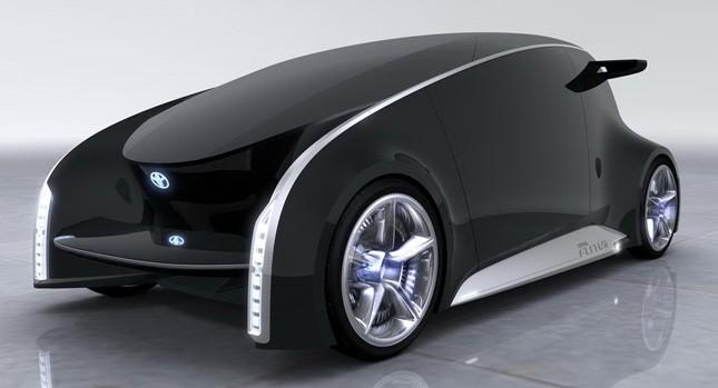 """Toyota Fun VII tương lai """"dế"""" và xế hộp là một ảnh 1"""