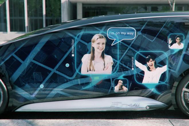 """Toyota Fun VII tương lai """"dế"""" và xế hộp là một ảnh 4"""