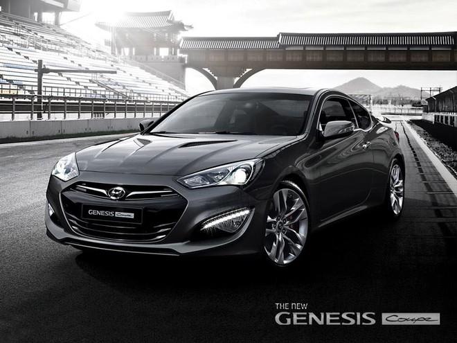 "Genesis Coupe 2013 bị paparazzi ""tóm"" trước Detriot Auto Show ảnh 1"