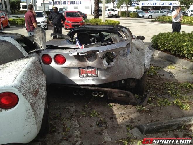 Tài xế say xỉn tông nát 3 chiếc Chevrolet Corvette Grand Sport ảnh 3