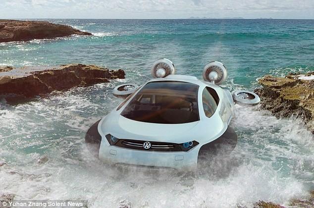 """Tương lai ô tô đa năng, """"chạy ngon"""" trên mọi địa hình ảnh 1"""