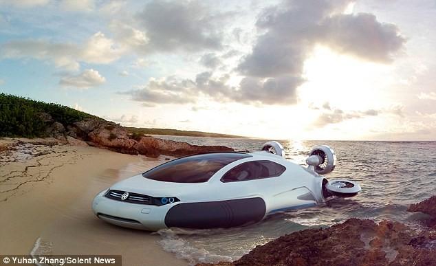 """Tương lai ô tô đa năng, """"chạy ngon"""" trên mọi địa hình ảnh 2"""