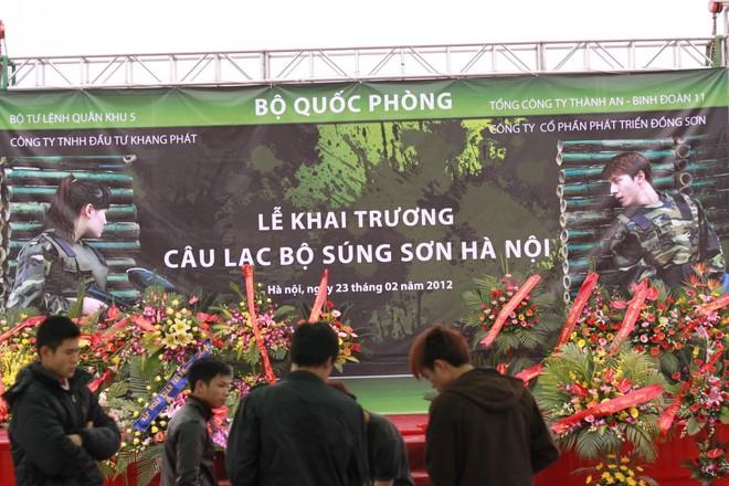 Súng sơn - trò chơi trận giả ra mắt ấn tượng tại Hà Nội ảnh 7