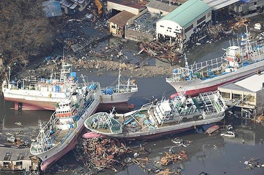 Tìm thấy tàu cá bị mất tích trong vụ sóng thần ở Nhật Bản tại... Canada ảnh 3