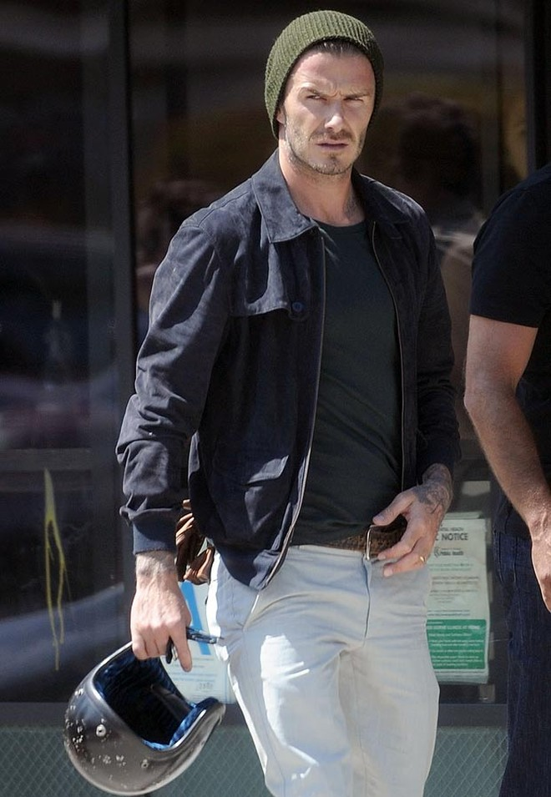 """Beckham phóng """"xế nổ"""" như tài tử Hollywood trên đất Mỹ ảnh 2"""