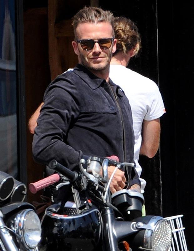 """Beckham phóng """"xế nổ"""" như tài tử Hollywood trên đất Mỹ ảnh 3"""