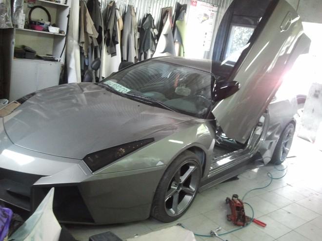 """Mitsubishi biến hoá thành """"siêu bò"""" Lamborghini ảnh 11"""