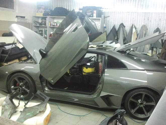 """Mitsubishi biến hoá thành """"siêu bò"""" Lamborghini ảnh 5"""