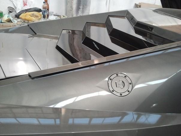 """Mitsubishi biến hoá thành """"siêu bò"""" Lamborghini ảnh 6"""