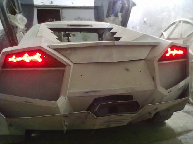"""Mitsubishi biến hoá thành """"siêu bò"""" Lamborghini ảnh 7"""