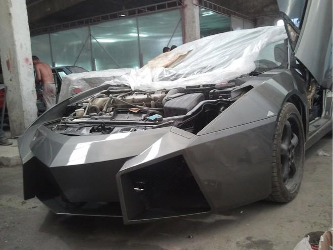 """Mitsubishi biến hoá thành """"siêu bò"""" Lamborghini ảnh 10"""