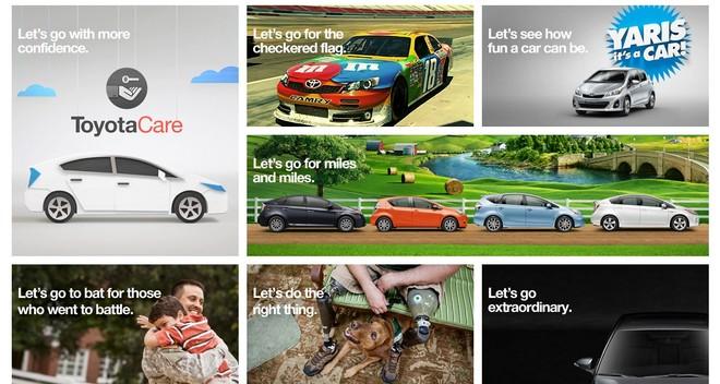 "Toyota công bố slogan mới: ""Let's go places"" ảnh 1"