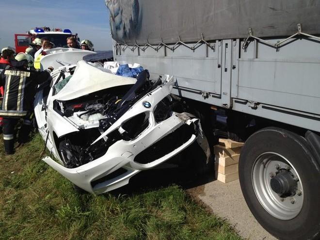 Một lái xe thiệt mạng khi lái thử nghiệm BMW 5-Series ảnh 1