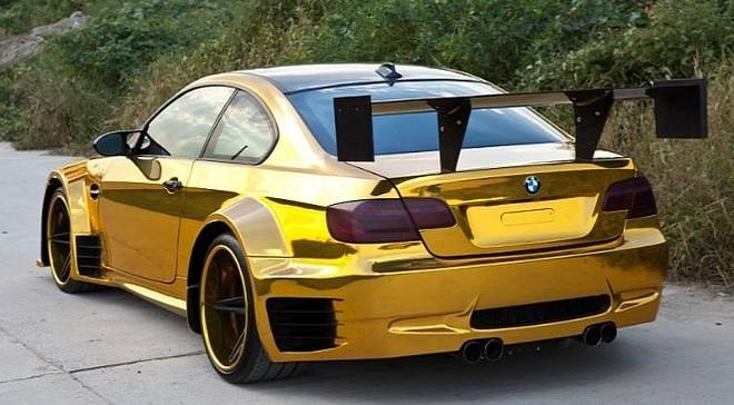 """Đại gia Trung Quốc """"độ"""" BMW bằng vàng ròng ảnh 3"""
