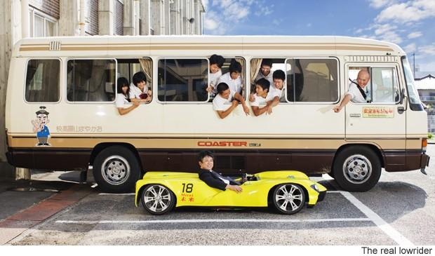 Chiếc xe độc đáo lập kỉ lục... thấp nhất thế giới ảnh 1