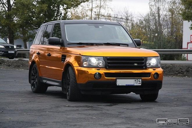 Ngắm Range Rover Sport mạ vàng sáng loáng ảnh 5