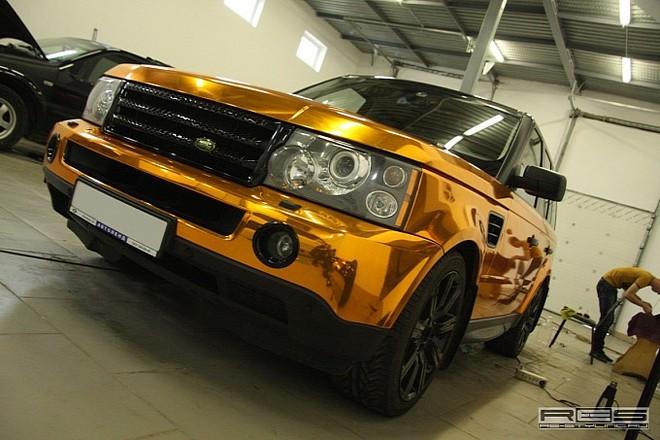 Ngắm Range Rover Sport mạ vàng sáng loáng ảnh 6