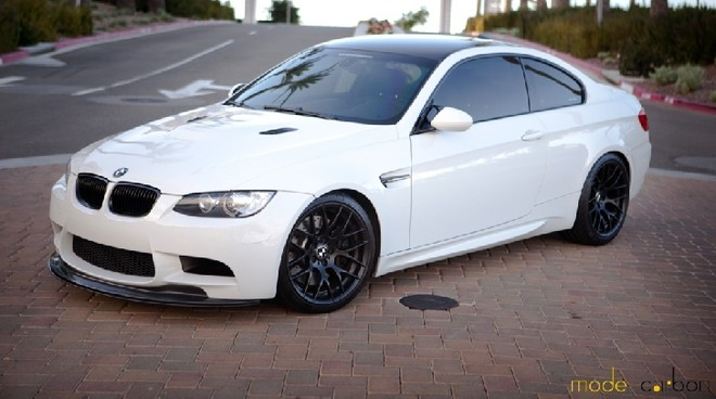 """Chiêm ngưỡng BMW M3 """"Bạch Tuyết"""" trắng tinh tế ảnh 1"""
