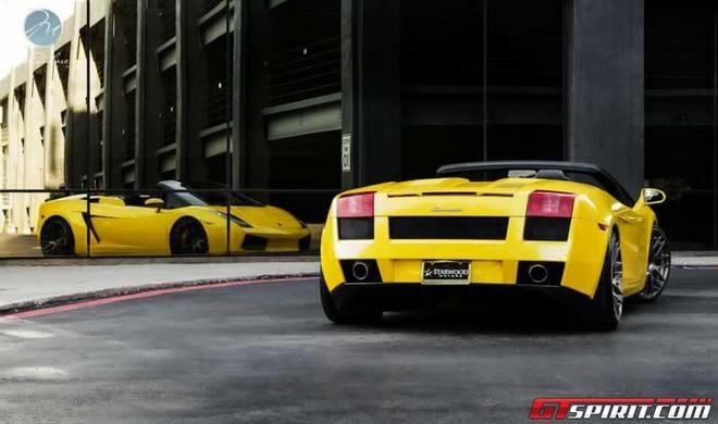 """Ra mắt """"chú nhện vàng"""" Lamborghini Gallardo Spyder ảnh 3"""