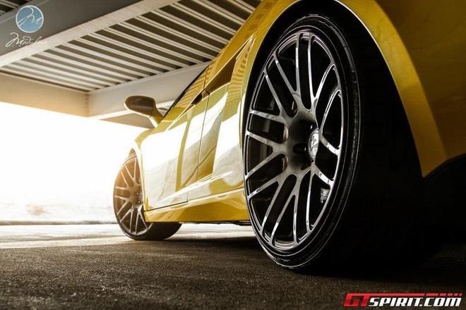 """Ra mắt """"chú nhện vàng"""" Lamborghini Gallardo Spyder ảnh 1"""