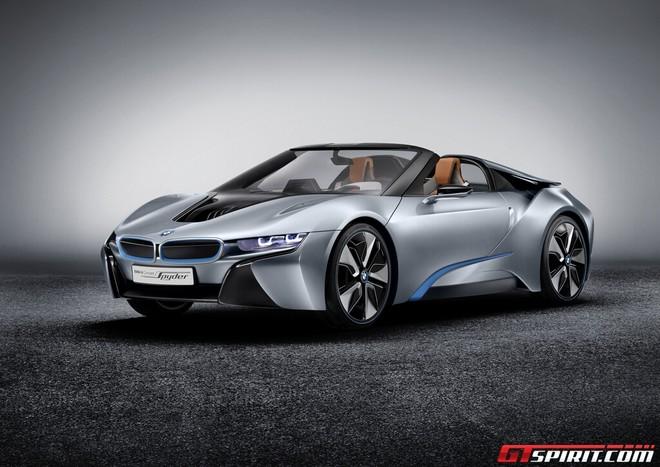 """Siêu xe thể thao BMW i8 """"trình làng"""" ảnh 1"""