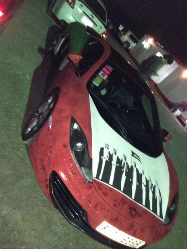 Hàng loạt siêu xe xuất hiện trong ngày Quốc khánh của UAE ảnh 1