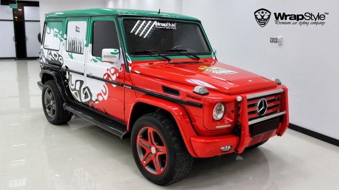 Hàng loạt siêu xe xuất hiện trong ngày Quốc khánh của UAE ảnh 2