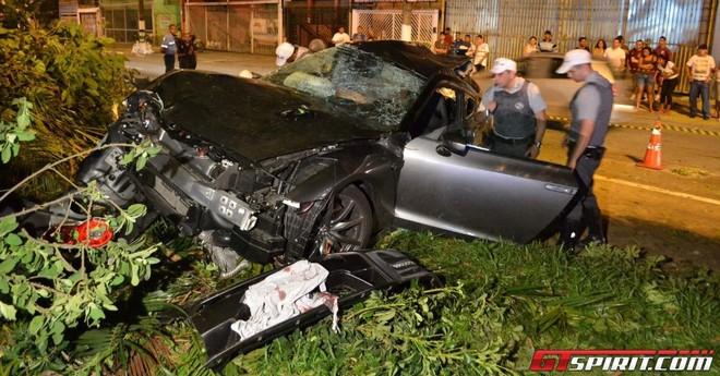 Nissan GT-R độ công suất lớn gây tai nạn chết người ảnh 1
