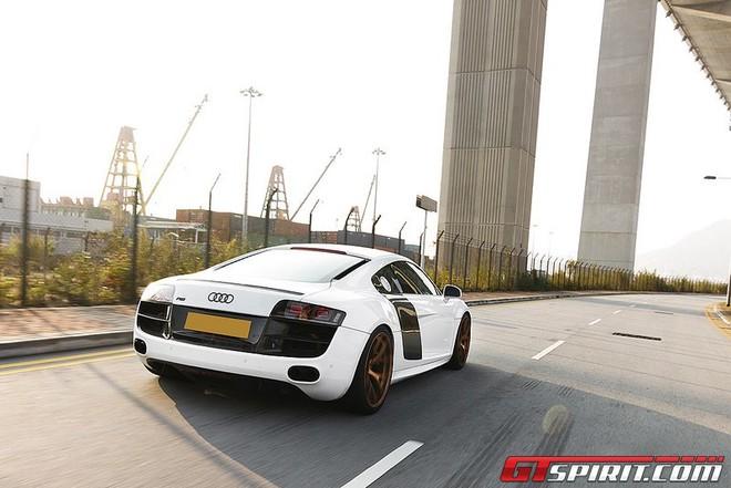 """Audi R8 V10 """"độ"""" đẹp lung linh ảnh 6"""