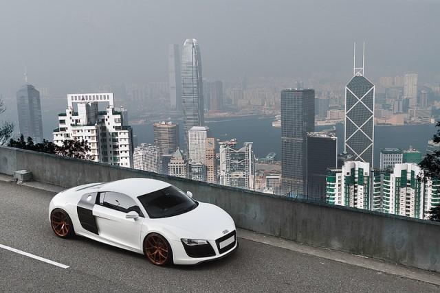 """Audi R8 V10 """"độ"""" đẹp lung linh ảnh 5"""