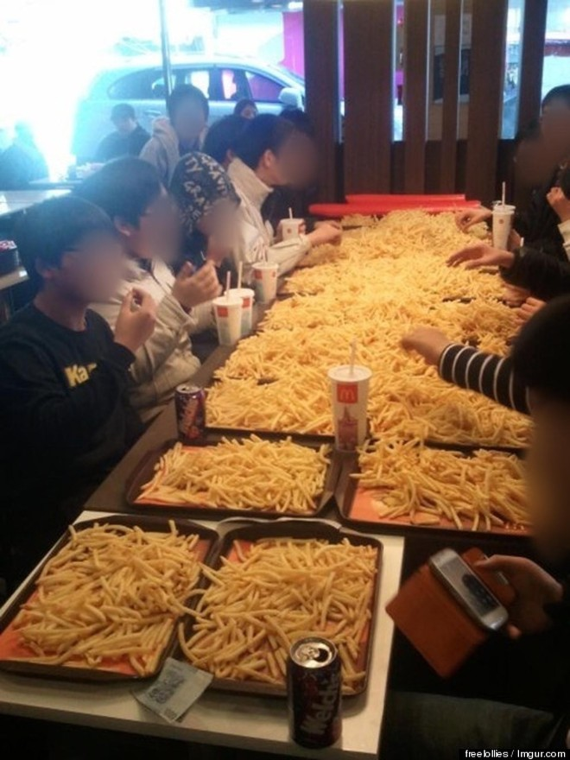 Cửa hàng McDonald đuổi trẻ con vì …ăn quá nhiều ảnh 1