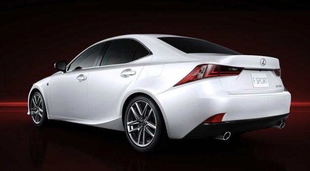 Công bố giá bán xe hơi Lexus IS 2014 ảnh 3