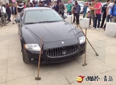 Đại gia thuê người đập nát siêu xe Maserati 8.8 tỉ đồng ảnh 2