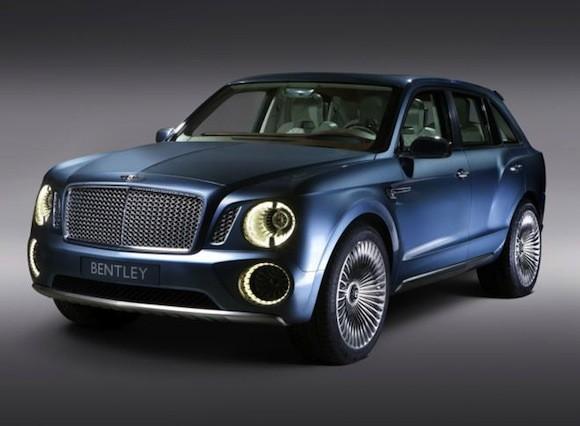 Bentley SUV sẽ ra mắt vào 2016 ảnh 1